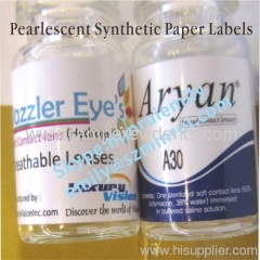 Pearlescent Synthetic Paper Labels
