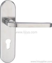 zinc alloy handle door lock