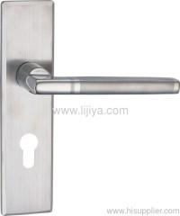 european style zinc alloy handle mortise lock