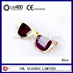 sunglasses with printing lens for women