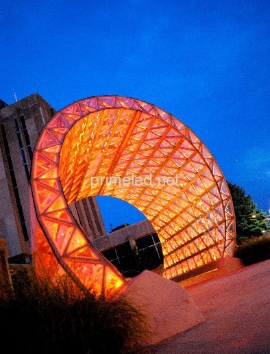 Crystal Arch in Indianapolis