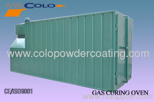 Gas powder coating oven in China