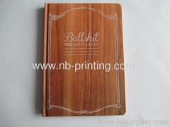 round corner customized notebook