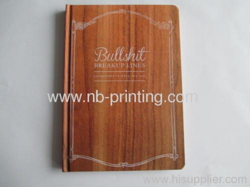 round corner customized notebook