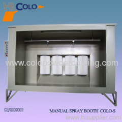 cartridge filter powder spray booth