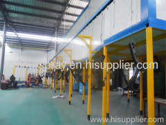 TUNNEL POWDER COATING OVEN IN CHINA