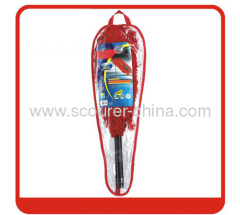 Easy Cleaning for Car duster with red+black colour