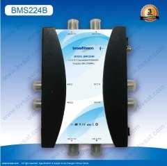 Multifunctional LNB cascadable 2x2x4 multiswitch for dish Sat TV receiver