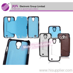 Flip Leather Case Cover for Samsung Galaxy S4 i9500 with Retail Package 8colors New Arrival