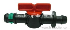 Drip Pipe Barb Flow Control Valve