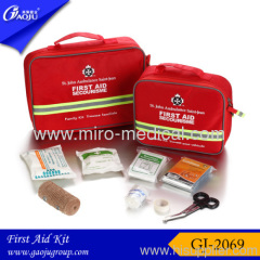First aid kit iso certificate