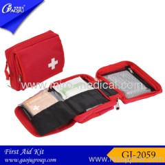 Much interlayer of sports first aid bag