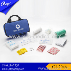 170D Nylon material medium size Sports first aid kits