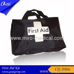 black new sports First Aid Kit