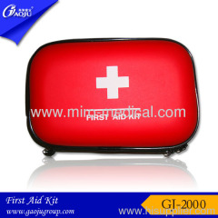 PU Material Red eva first aid bag