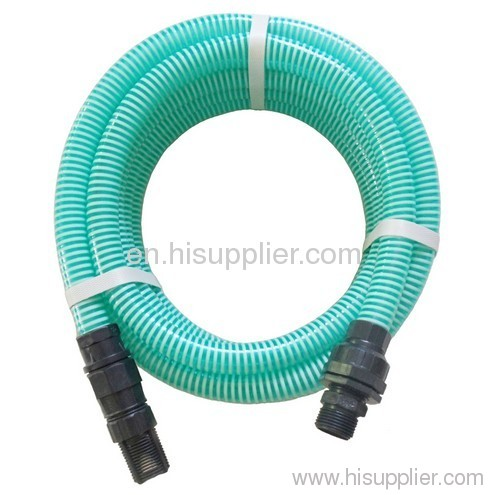 PVC Suction Water Hose Connected with Pump