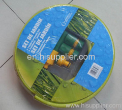 PVC Garden Knitted Hose with Nozzle Fittings