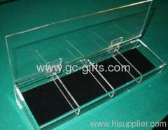 The best sale for valuables clear acrylic display cabinet
