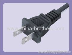 2 pin American style power plug