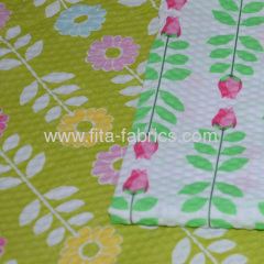 100% cotton Embossed fabric