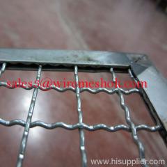 plateau de treillis métallique pour la nourriture