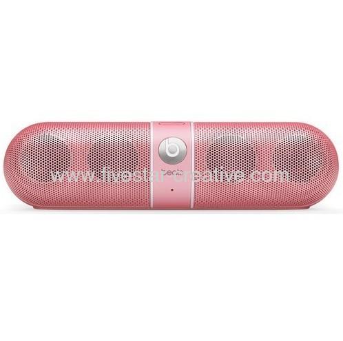 Beats by Dre Pill Portable Bluetooth Speaker Beats Pill Pink