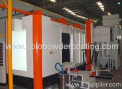 cabinet powder spray booth