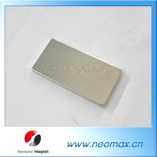Thin rectangular neodymiu magnet