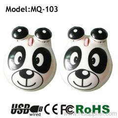 3d usb frog mouse OEM design laptop mouse for kids gift