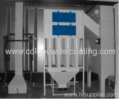 automated spray booth industrial paint booth