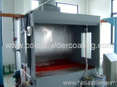 Liquid Paint Spray Booths For Furniture / Machinery Products