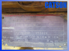 Komatsu S6D170-1 engine assy