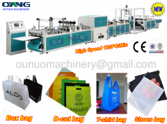 non woven D-cut bag making machine