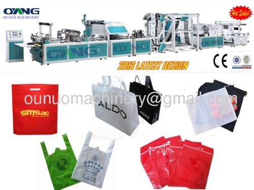 nonwoven fabric bag making machine