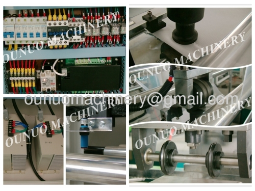 ONL-XC700-800 Automatic Non Woven BOX Bag Making Machine WIth Online Handle Attach