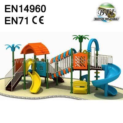Indoor Plastic Playground Equipment
