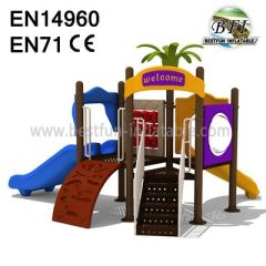 Plastic Material Playground Equipment