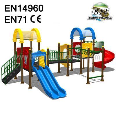 Rocket Outdoor Playground Equipment