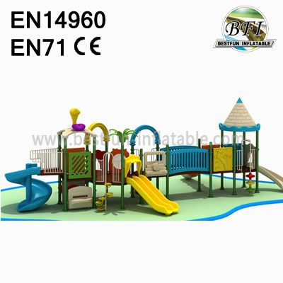 Clolorful Amusement Attraction Park