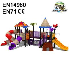 Amusement Park Swing Set