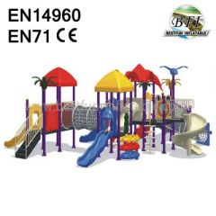 Plastic Playground Amusement Park Playground