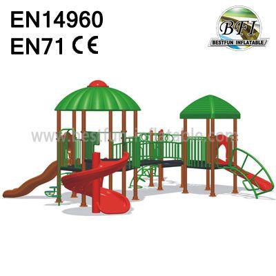 Outdoor Fitness Playground Equipment