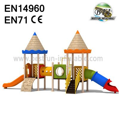Rubber Coating Outdoor Playground Equipment