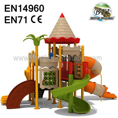 Plastic Toy Playground Equipment