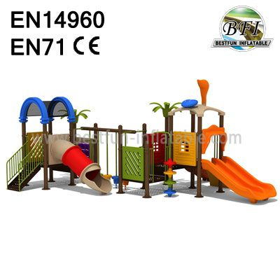 Plastic Toy Mall Playground Equipment