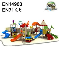 Amusement Park Swing Ride