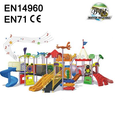 Promotion Outdoor Playground Seesaw Play Equipment