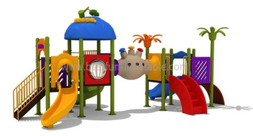 Amusement Park Attractions Game