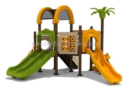 Amusement Park Pendulum Ride