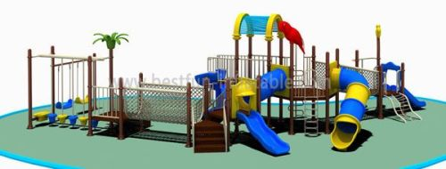 Children Cartoon Playground Equipment